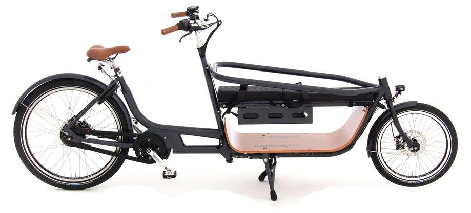 Fahrräder/lastenfahrräder: Babboe  Slim Mountain Schwarz Modell 2020