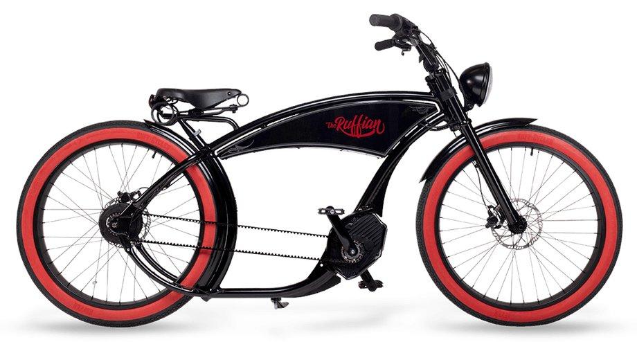 E-Bikes/e-bike: Ruff Cycles  The Ruffian Schwarz Modell 2021
