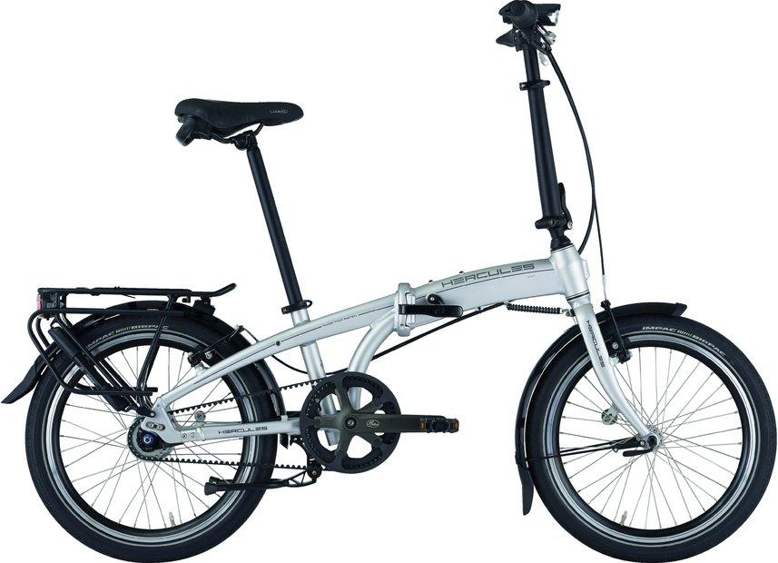 Fahrräder/klappräder: Hercules  Versa F7 Belt Silber Modell 2021