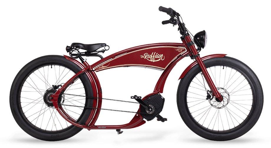 E-Bikes/e-bike: Ruff Cycles  The Ruffian Rot Modell 2021