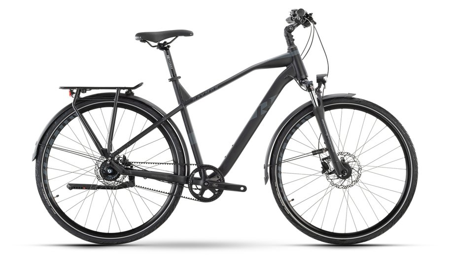 Fahrräder/citybike: Raymon Raymon TourRay 6.0 Schwarz Modell 2021