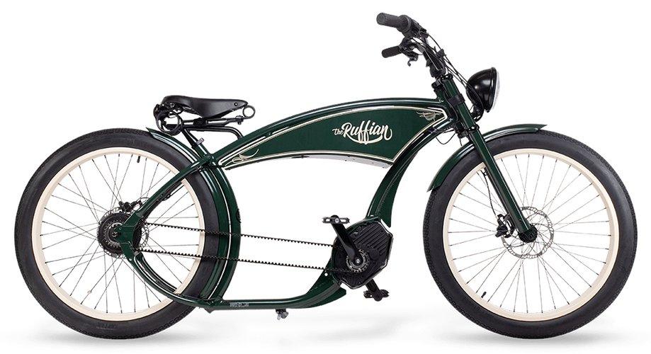 E-Bikes/e-bike: Ruff Cycles  The Ruffian Grün Modell 2021