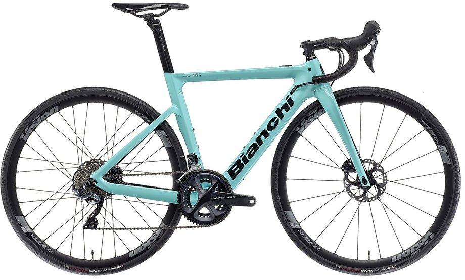 E-Bikes/e-bike: Bianchi  Aria E-Road Ultegra Türkis Modell 2021