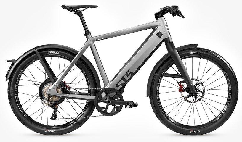 E-Bikes/e-bike: Stromer  ST5 Rigid OGT Grau Modell 2021