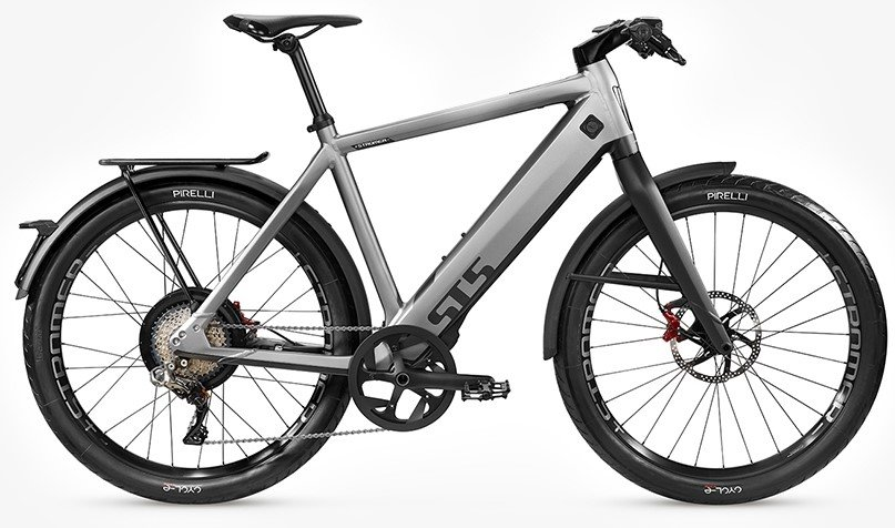 E-Bikes/e-bike: Stromer  ST5 Rigid Grau Modell 2021