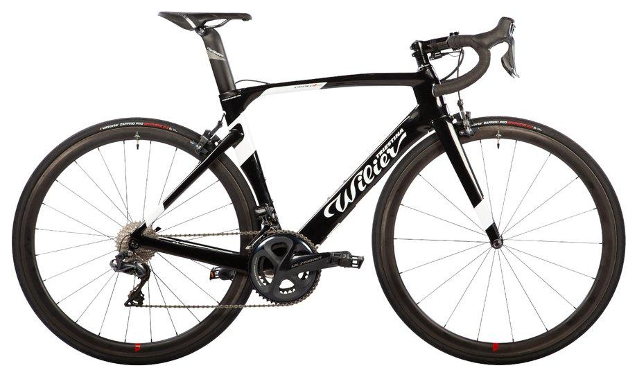 Fahrräder/rennräder: Wilier  Cento1 Air - Ultegra Di2 - NDR38 Schwarz Modell 2020