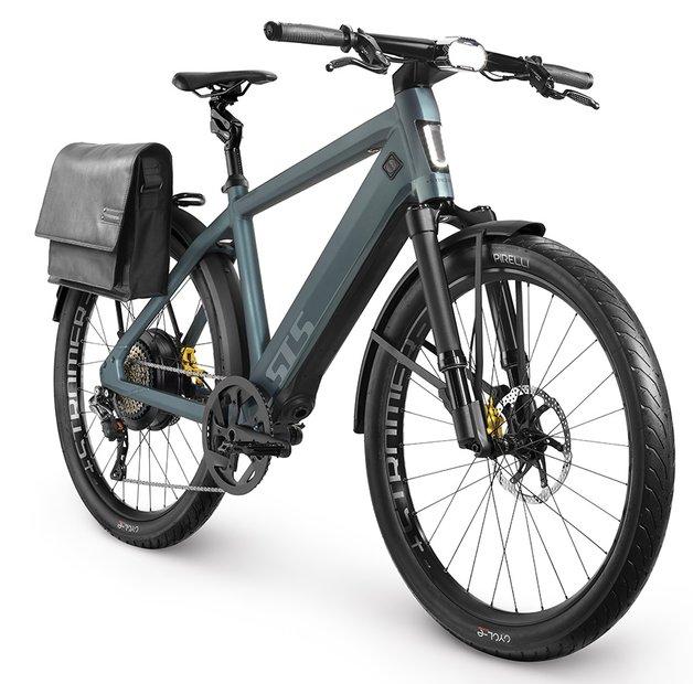 E-Bikes/e-bike: Stromer  ST5 Limited Edition Grün Modell 2021
