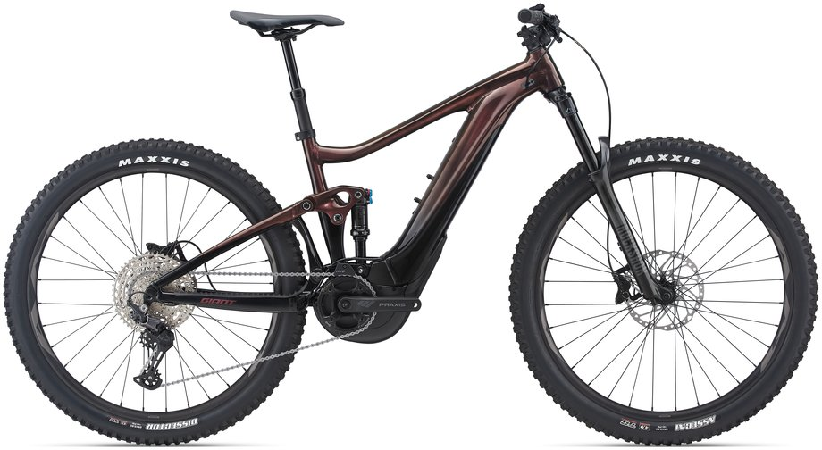 E-Bikes/e-bike: GIANT Giant Trance X E+ 3 Rot Modell 2021