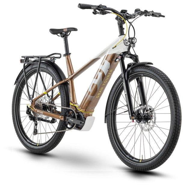 E-Bikes/e-bike: Husqvarna  Gran Tourer 4 Weiß Modell 2020