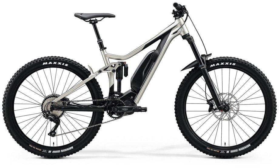 E-Bikes/e-bike: MERIDA Merida eONE-Sixty 500 SE Silber Modell 2020