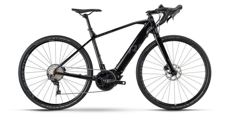 E-Bikes/e-bike: Raymon Raymon GravelRay E 7.0 Schwarz Modell 2021