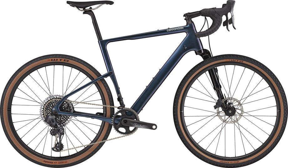 Cannondale Topstone Carbon Lefty 1 Rennrad Blau Modell 2021