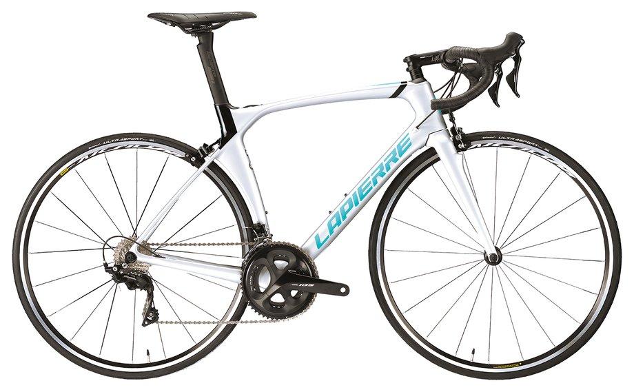 Fahrräder/rennräder: Lapierre  Aircode SL 500 Weiß Modell 2020