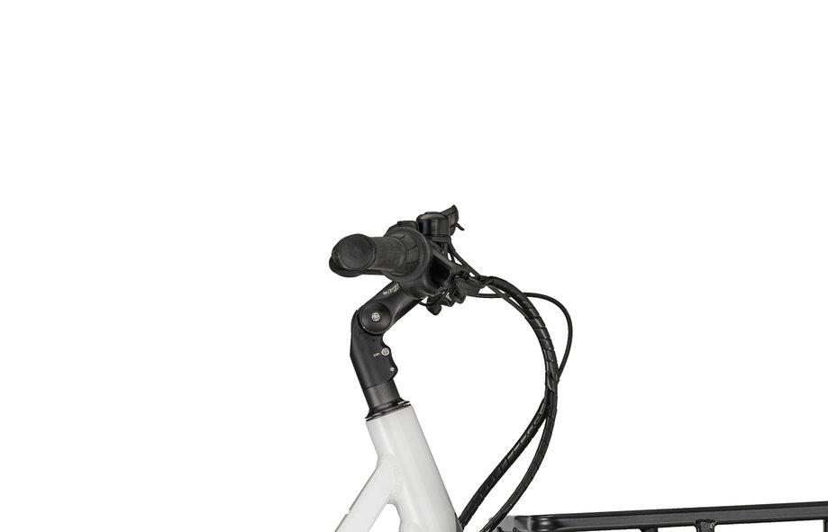Bergamont E-Cargoville Bakery Weiß Modell 2020| Rahmengröße: 52 CM