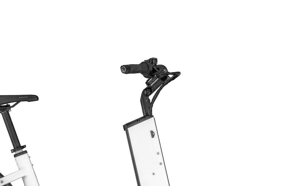 Bergamont E-Cargoville LJ 70 Weiß Modell 2020| Rahmengröße: ONE SIZE