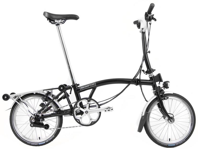 Fahrräder/klappräder: Brompton  M6R - FCB - SV8 Schwarz Modell 2021
