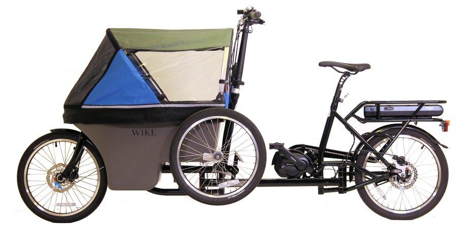 Fahrräder/lastenfahrräder: Wike  Electric Salamander Cycle Stroller Blau Modell 2020