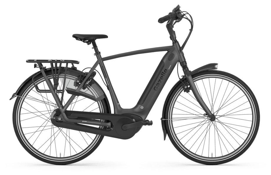 E-Bikes/e-bike: Gazelle  Grenoble C380 HMB Elite Grau Modell 2021
