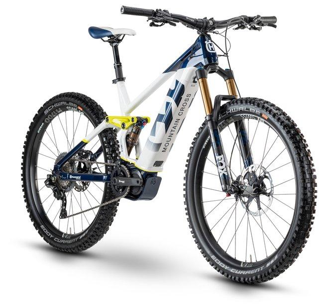 E-Bikes/e-bike: Husqvarna  Mountain Cross 8 Blau Modell 2020