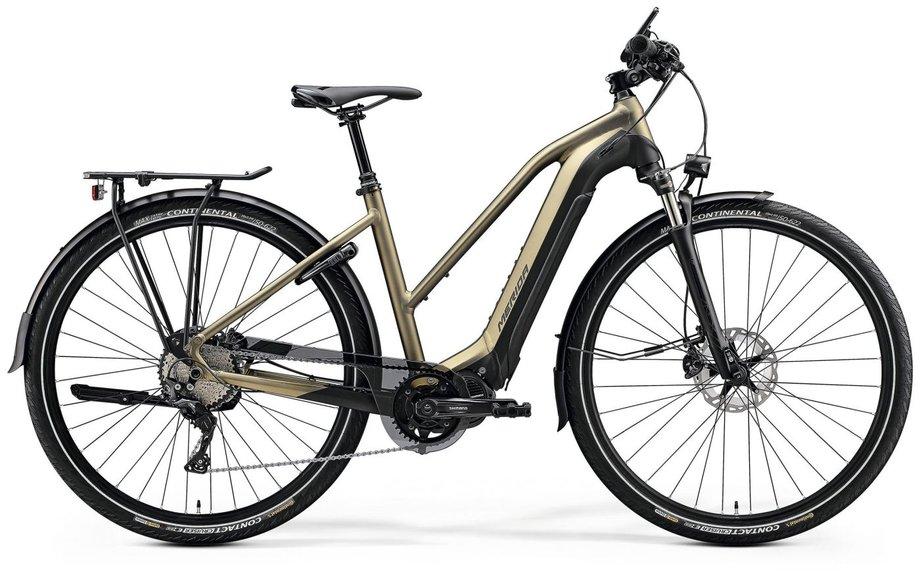 E-Bikes/e-bike: MERIDA Merida eSPRESSO Lady 900 EQ Gold Modell 2020
