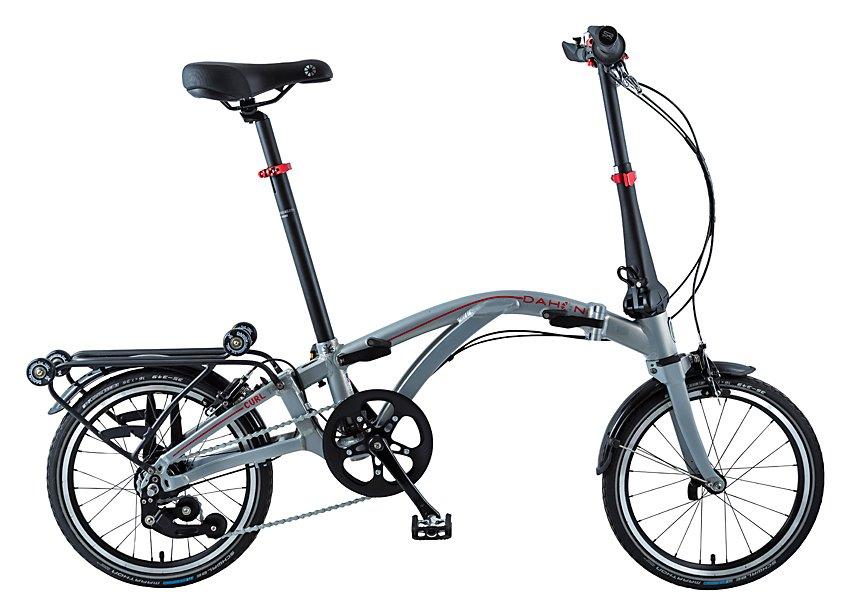Fahrräder/klappräder: Dahon  Curl I4 (Flipfolding) Silber Modell 2021