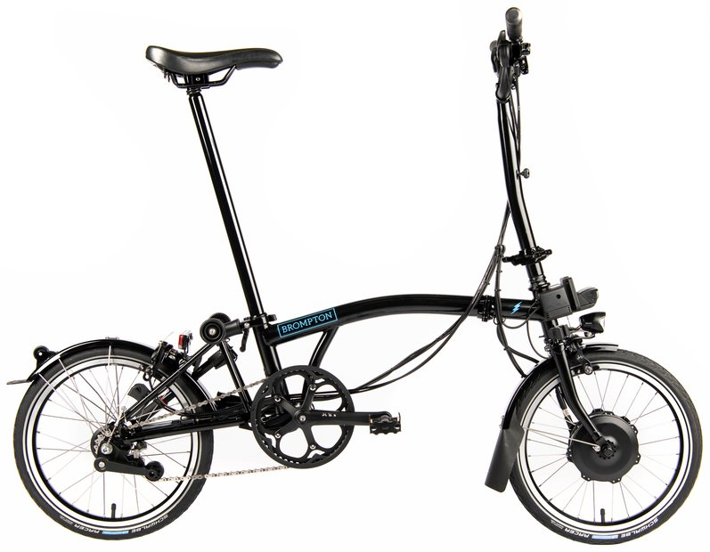 E-Bikes/e-bike: Brompton  H6L Electric - Avy - SP6 Schwarz Modell 2021
