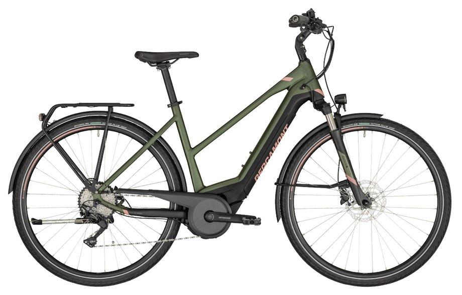 E-Bikes/e-bike: Bergamont Bergamont E-Horizon Edition Lady Grün Modell 2020