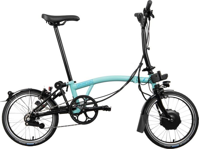 E-Bikes/e-bike: Brompton  H6L Electric - Avy - SP6 Grün Modell 2021