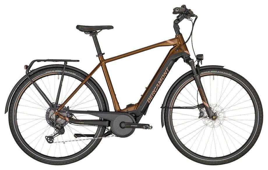 E-Bikes/e-bike: Bergamont Bergamont E-Horizon Elite Gent Braun Modell 2020