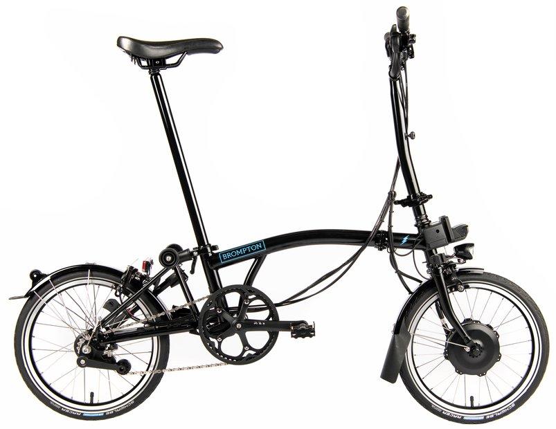 E-Bikes/e-bike: Brompton  M6L Electric - Avy Schwarz Modell 2021
