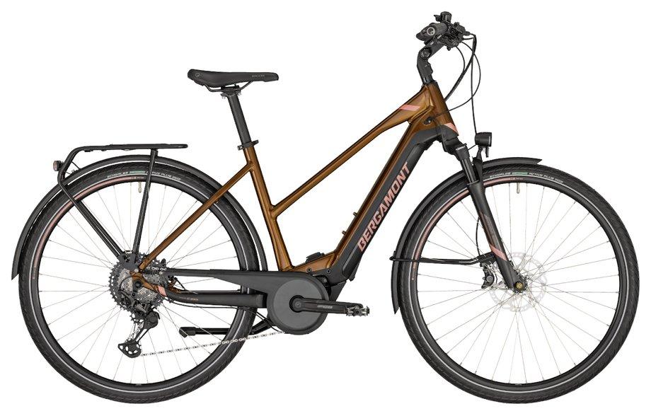 E-Bikes/e-bike: Bergamont Bergamont E-Horizon Elite Lady Braun Modell 2020
