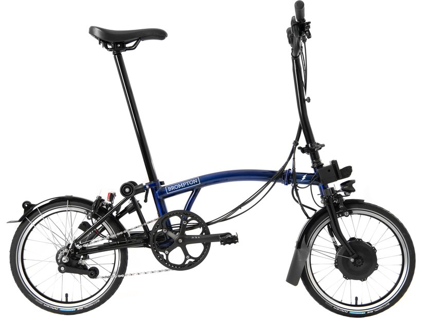 E-Bikes/e-bike: Brompton  M6L Electric - Avy Blau Modell 2021