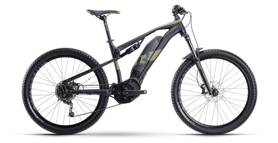 E-Bikes/e-bike: Raymon Raymon FullRay E-Seven 5.0 Schwarz Modell 2021
