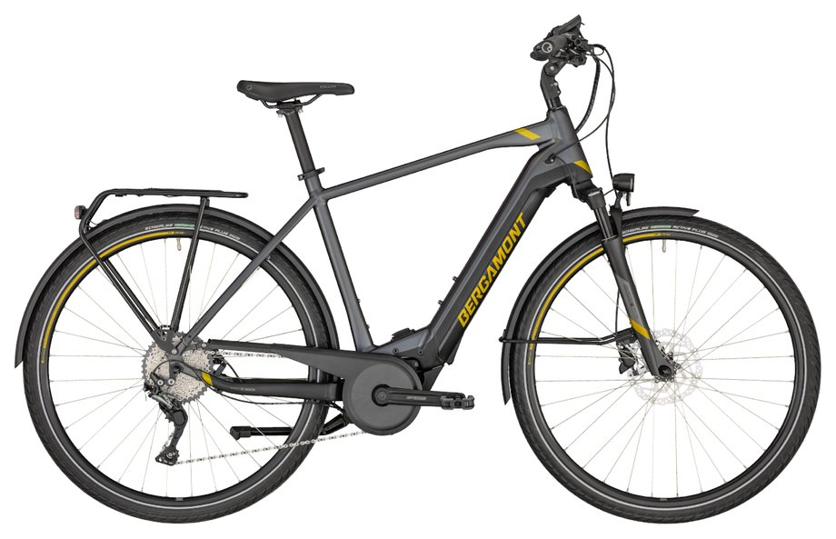 E-Bikes/e-bike: Bergamont Bergamont E-Horizon Expert 500 Gent Grau Modell 2020