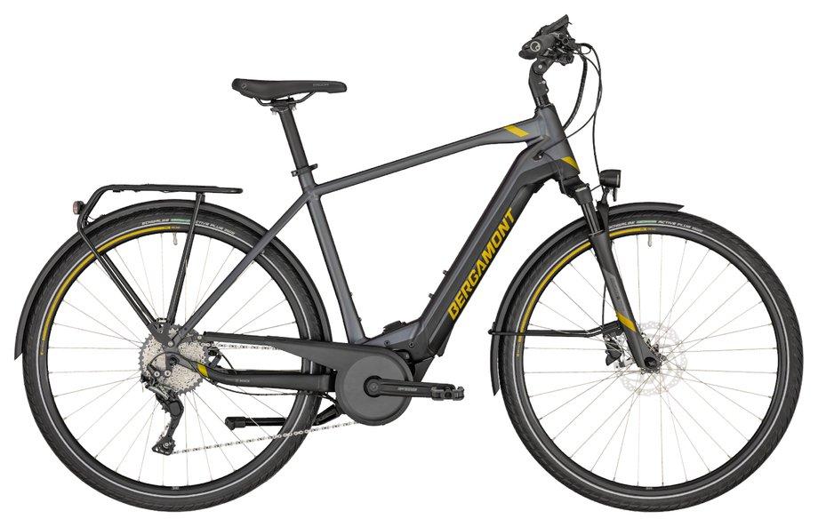 E-Bikes/e-bike: Bergamont Bergamont E-Horizon Expert 600 Gent Grau Modell 2020