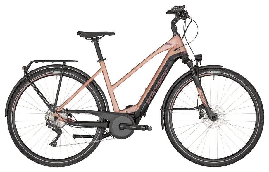 E-Bikes/e-bike: Bergamont Bergamont E-Horizon Expert 600 Lady Gold Modell 2020
