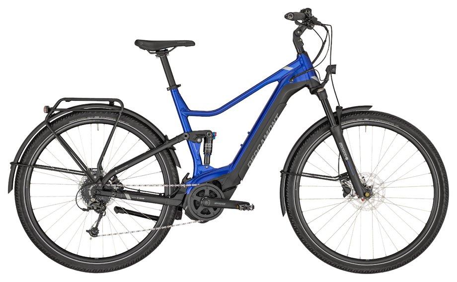 E-Bikes/e-bike: Bergamont Bergamont E-Horizon FS Edition Blau Modell 2020