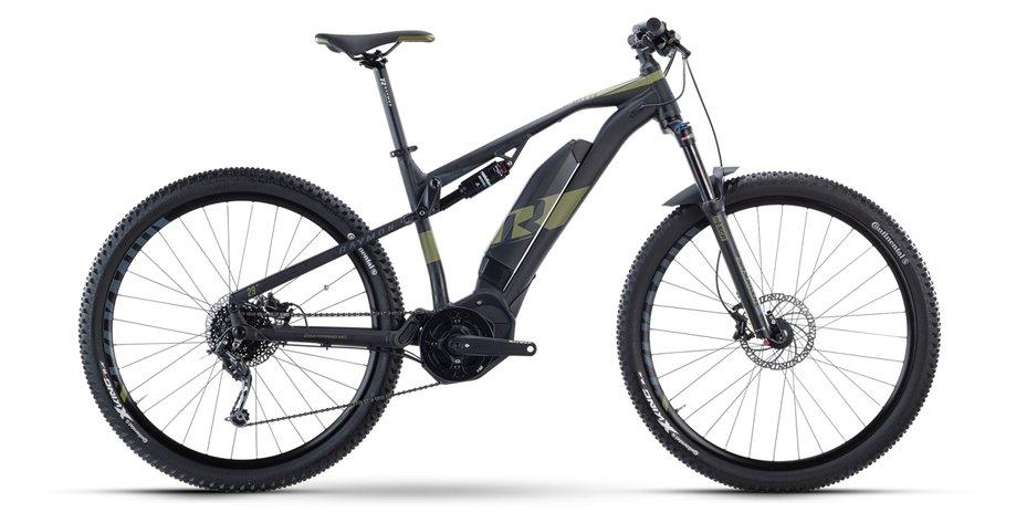 E-Bikes/e-bike: Raymon Raymon FullRay E-Nine 5.0 Schwarz Modell 2021