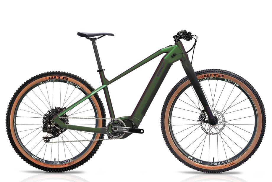 E-Bikes/e-bike: Hoheacht  Sento Lumo Grün Modell 2021
