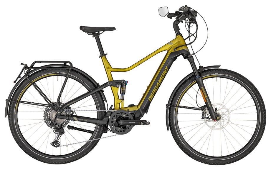E-Bikes/e-bike: Bergamont Bergamont E-Horizon FS Elite Speed Gold Modell 2020