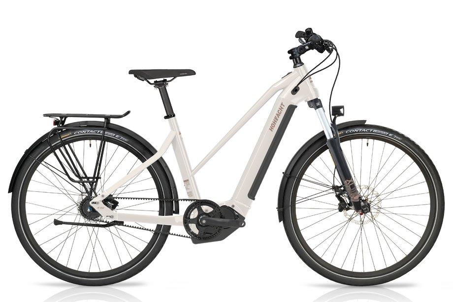 E-Bikes/e-bike: Hoheacht  Pasia Urbo Weiß Modell 2021