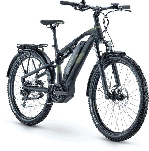 Raymon CrossRay E FS 4.0 E Bike Schwarz Modell 2021