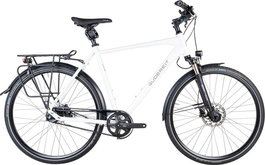 Fahrräder/citybike: Gudereit  Premium 11.0 evo Weiß Modell 2021