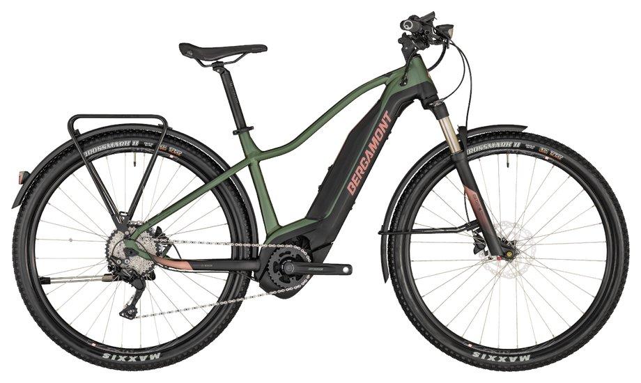 Bergamont E-Revox FMN EQ E-Bike Grün Modell 2020