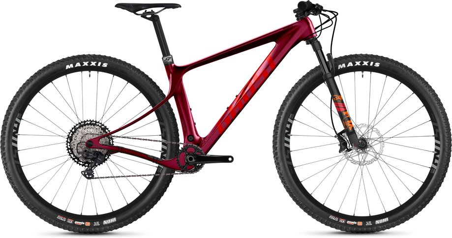 Ghost Lector SF LC Advanced Mountainbike Rot Modell 2021