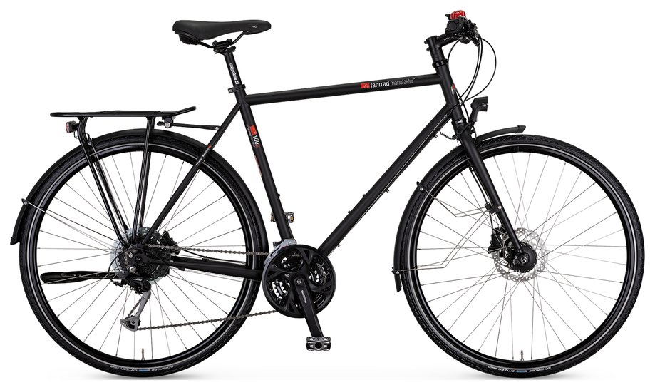 Fahrräder/trekkingräder: VSF-fahrradmanufaktur  T-100 Sport Kette Disc Schwarz Modell 2021