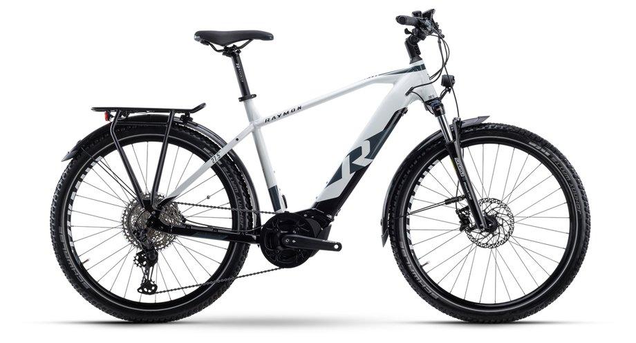 E-Bikes/e-bike: Raymon Raymon CrossRay E 8.0 Weiß Modell 2021