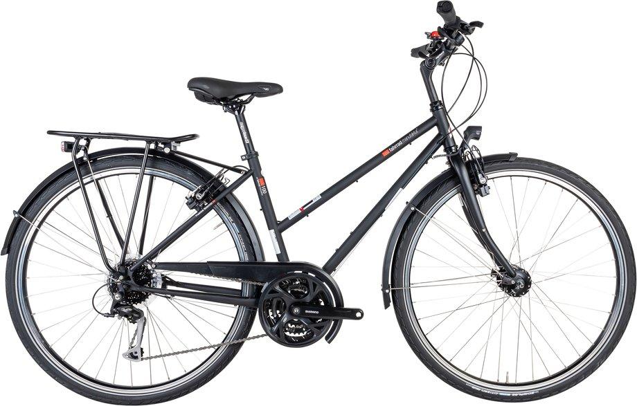 Fahrräder/trekkingräder: VSF-fahrradmanufaktur  T-100 Kette HS11 Schwarz Modell 2021