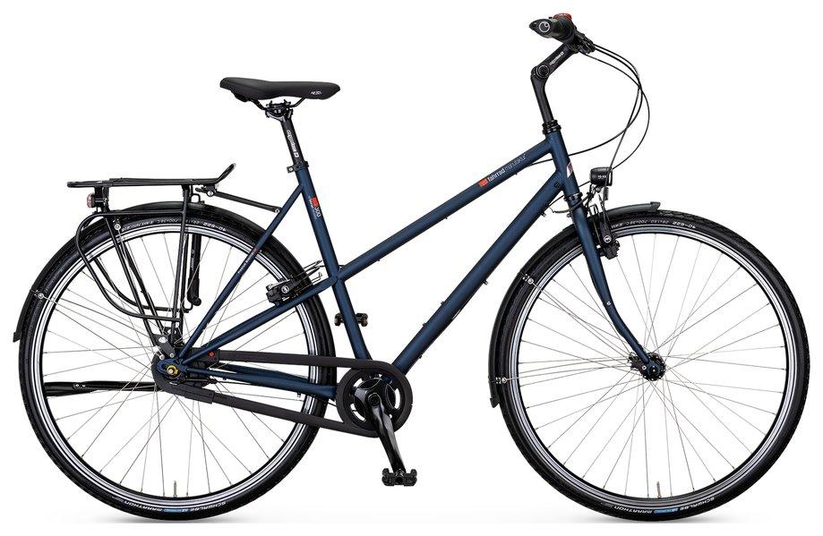 Fahrräder/citybike: VSF-fahrradmanufaktur  T-300 Nabe HS33 Schwarz Modell 2021