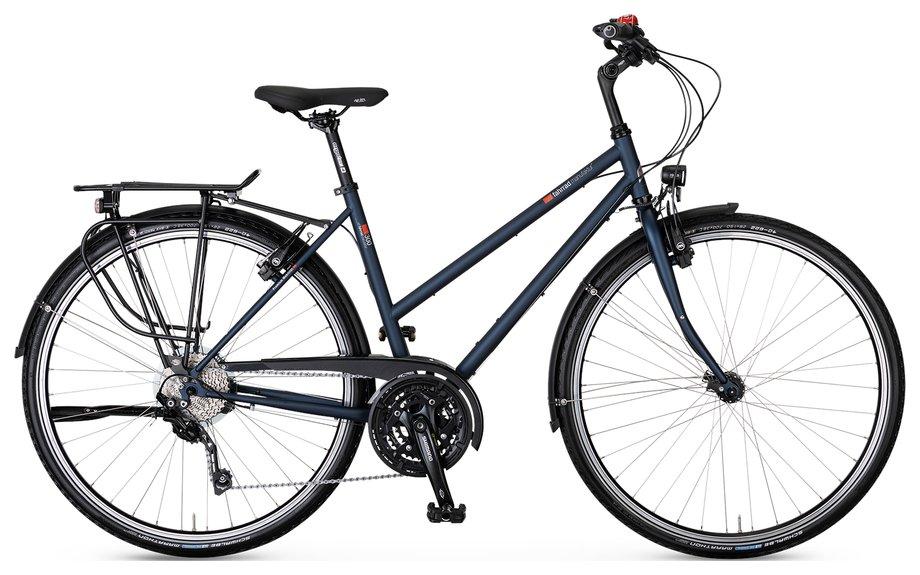 Fahrräder/trekkingräder: VSF-fahrradmanufaktur  T-300 Kette HS33 Schwarz Modell 2021